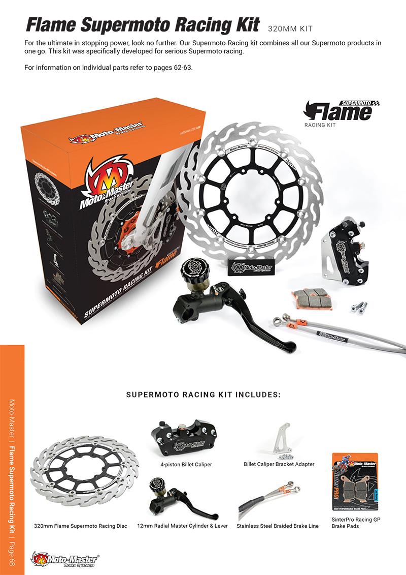 Moto-Master(モトマスター)スーパーモト 320mm レーシング コンプリート強化キット