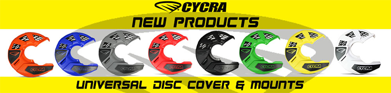 Cycra 06-16 Kawasaki KX250F Disc Cover Mount Kit