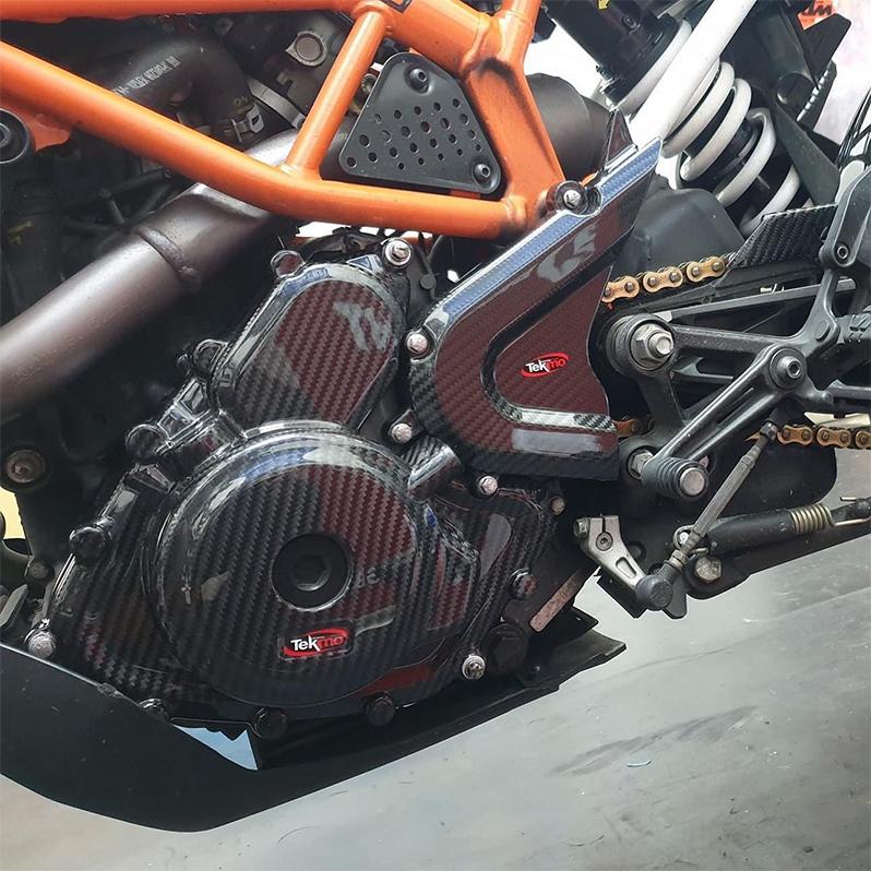 Tekmo Racing カーボンクラッチカバー KTM, Husqvarna,用