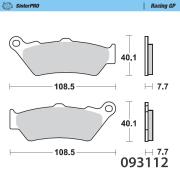 Moto-Masterオフロードブレーキパッド シンタープロ レーシングGP