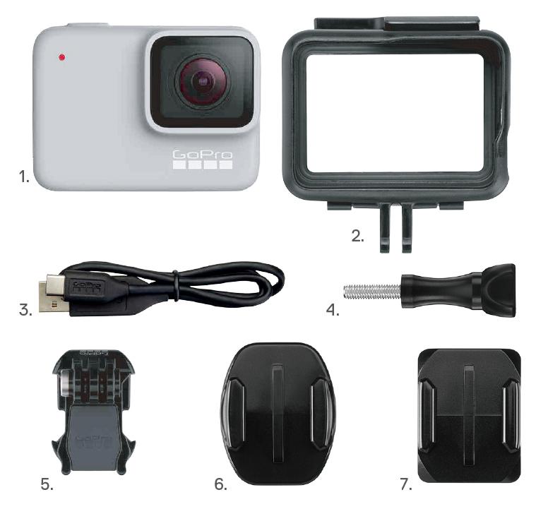 GoPro Hero7 ホワイト CHDHB-601-FW [国内正規品]